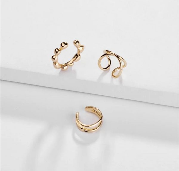 Jewellery Accessories Ear Clip Adjustable Gold Plated