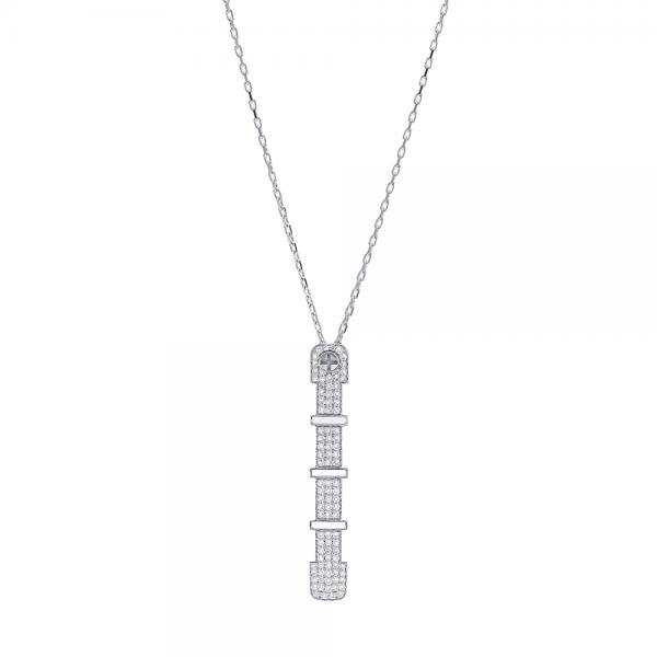 Full Diamond Pendant 4.5mm 18K (STRENGTH OF SPIRIT)