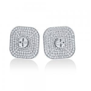 Full Diamond Earrings 20mm (Strength Of Spirit)