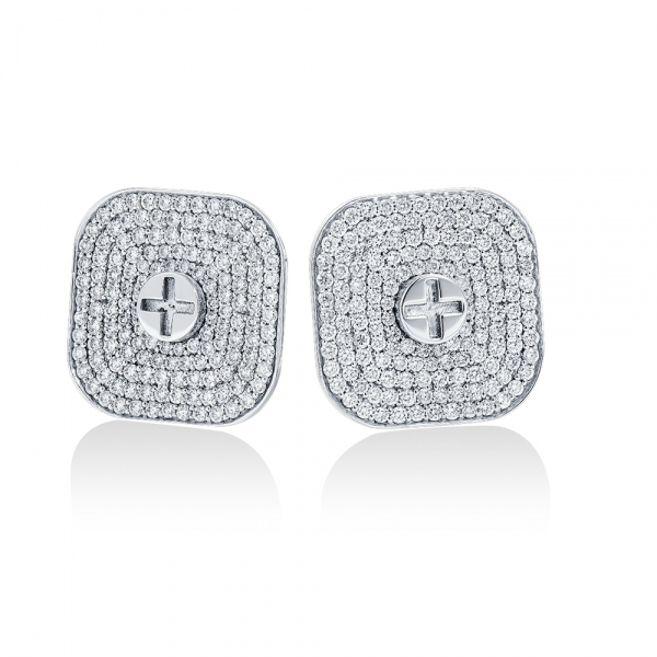 Full Diamond Earrings 20mm (Strength Of Spirit)