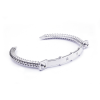 Diamond Silver Bangle (Strength Of Spirit)