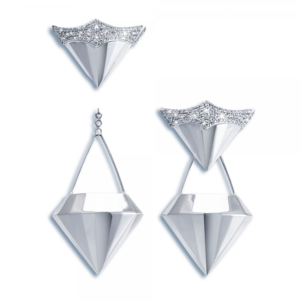Diamond Earrings 18K Gold