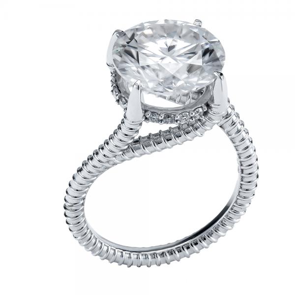 5ct Diamond Ring 18K Gold (Strength Of Spirit)