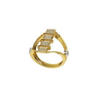 Diamond Ring 18K Gold (Strength Of Spirit)