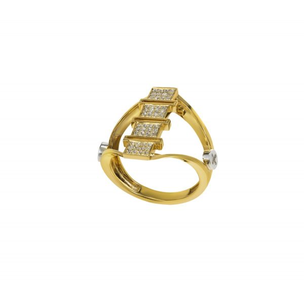 Diamond Ring 18K Gold (Strength Of Spirit)