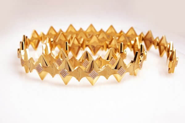 Diamond Belt - 18K Gold